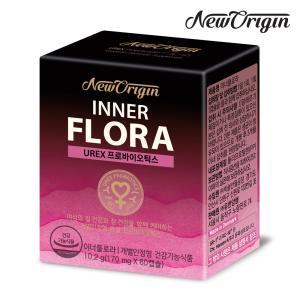 [유한양행] 뉴오리진 이너플로라 60캡슐 여성 질유산균 프로바이오틱스