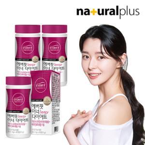 내츄럴플러스 에버핏 이너 다이어트 60정 3병/3개월분