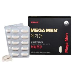GNC 메가맨 종합비타민&미네랄 (60정)