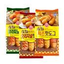 오뚜기 맛있는 핫도그(오리지널/치즈/할라피뇨) X 2개