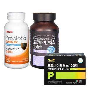 GNC 프로바이오틱스 유산균 3종