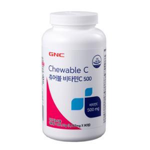 GNC 츄어블 비타민 C 500 (90)