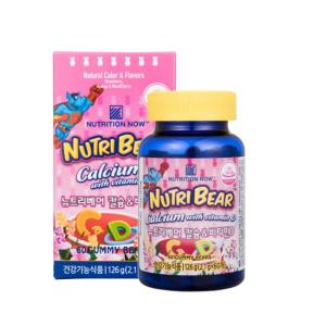 뉴트리베어 칼슘 + 비타민D (60)