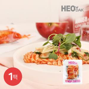 [허닭] 오리지널 슬라이스 닭가슴살 칠리맛 200g