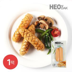 [허닭] 닭가슴살 소시지 매콤훈제맛 120g