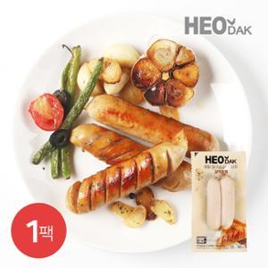 [허닭] 닭가슴살 소시지 갈릭훈제맛 120g