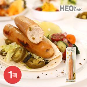 [허닭] 닭가슴살 소시지 후랑크 할라피노 70g