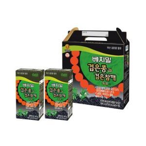 [정식품] 검은콩과검은참깨 베지밀 190ml×72팩 두유