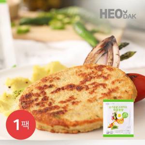 [허닭] 닭가슴살 스테이크 매콤청양 100g