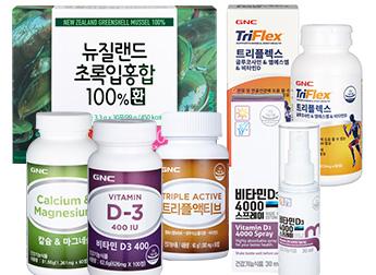 GNC 칼슘/마그네슘/글루코사민/비타민D