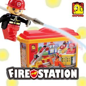 옥스포드 토들블록 FireStation OFD-2082