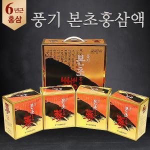 6년근 본초홍삼액 라이트 6000ml (100mlx60포) / 순수홍삼엑기스
