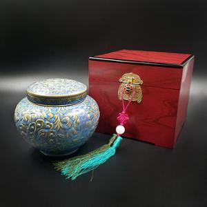 [지리산뱀사골] 자연산 아카시아꿀 500g (진주당초밀봉도자기/고가구/선물용보자기)