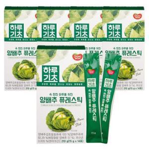 [동원] 하루기초 양배추 퓨레스틱 (15g*14포) X 5개