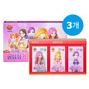 ★2+1★ 천지인 홍삼정 키즈 (시크릿 쥬쥬) 5gX30포 / 총 3개