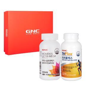 GNC 여성 관절건강 세트 [우먼스 울트라메가(90)+트리플렉스(90)]