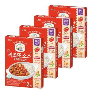 키요 순한 리조또 소스 토마토 소고기 180g×4개 / 반박스