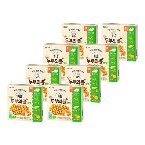 키요 촉촉한 두부와플 감자 64g×8개 / 반박스
