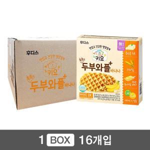 키요 촉촉한 두부와플 바나나 64g×16개 / 1box