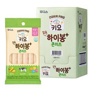 후디스 키요 칼슘 하이봉 콘치즈 90g×8봉 / 1box