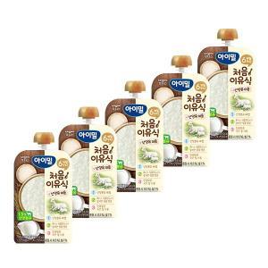 아이밀 처음이유식 산양유 미음 100g×5개입 / 반박스