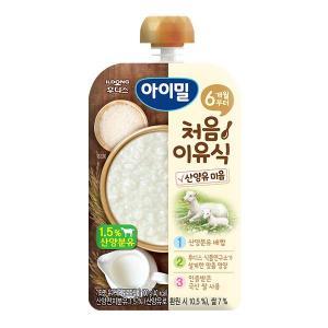 아이밀 처음이유식 산양유 미음 100g