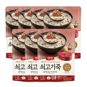 [동원] 양반 쇠고기죽(파우치죽)420g x 7개