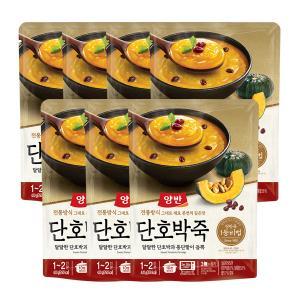 [동원] 양반 단호박죽 (파우치죽) 420g x 7개