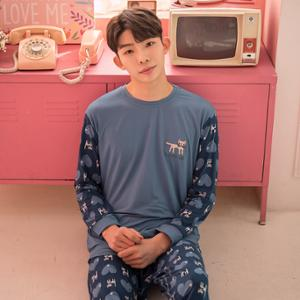 [포이] 러블리캣 양기모 남성 상하세트