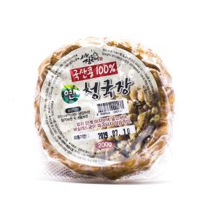 국산콩으로 만든 연청국장 200gx4팩