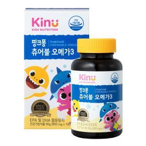 [KINU] 핑크퐁 츄어블 오메가3