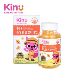 [KINU] 핑크퐁 츄잉볼 종합비타민
