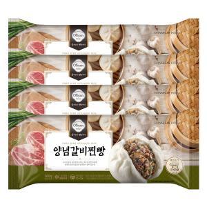 [신세계푸드] 올반 양념갈비찐빵360g x 4pack ( 총16개 )