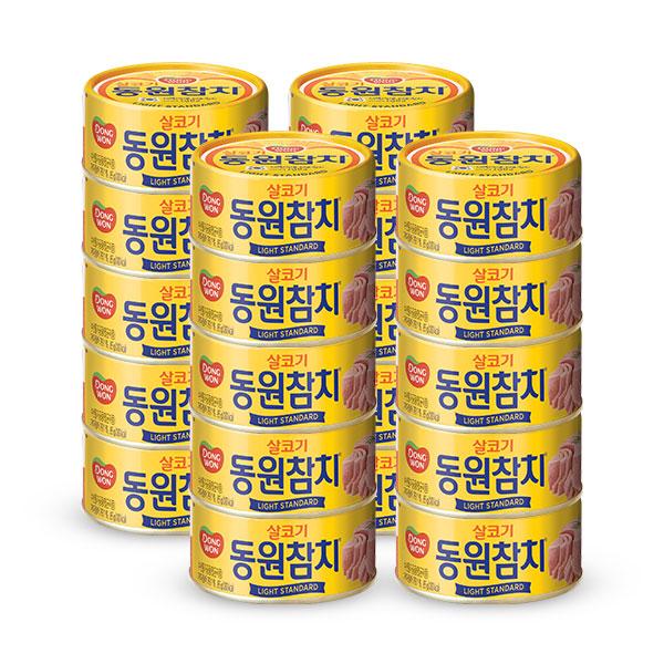 [동원] 동원참치 살코기 라이트스탠다드 85g*20캔