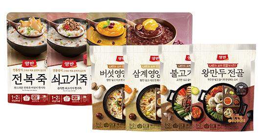 [동원] 간편식 골라담기(파우치죽,비빔장,국,탕,찌개,요리키트 외)