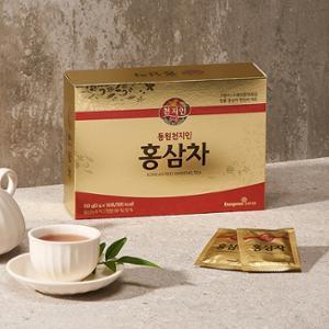 천지인 홍삼차 (3g x 50포) / 쇼핑백 포함