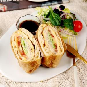 참치마요 치아바타 샌드위치 & 샐러드 (한개)