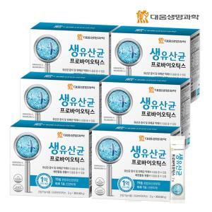 대웅생명과학 생유산균 프로바이오틱스 30포 6박스
