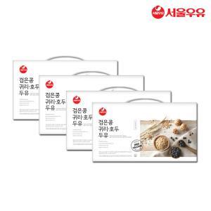 설 선물세트 서울우유 검은콩귀리호두두유 190mlx80팩
