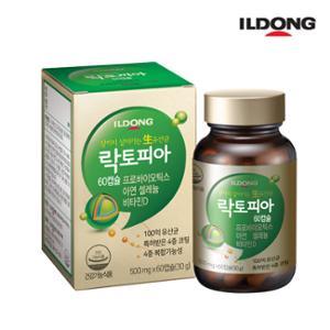 일동제약 하루100억 보장 생유산균 락토피아 60캡슐 (유통기한 20.04.18)