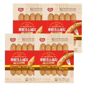 [동원] 후랑크 소시지(20주년 스페셜) 300g x 4봉