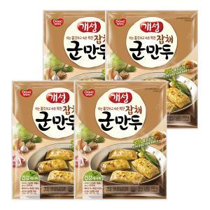 [동원 ]개성 군만두 잡채만두 600g x 4봉