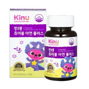 [KINU] 핑크퐁 츄어블 아연 플러스