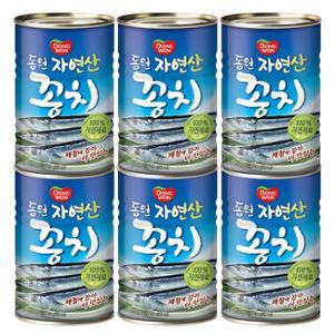 [동원] 꽁치 통조림 400gx6개