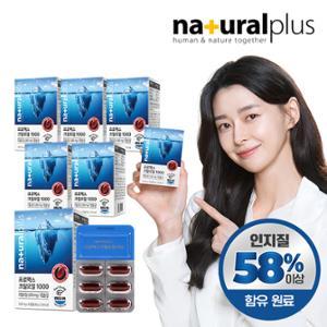 프로맥스 크릴오일 1000(인지질58%원료) 6박스/6개월