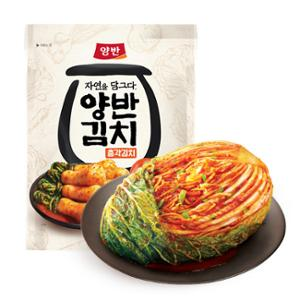 [동원] 양반김치 포기김치 5kg + 자연을 담그다 총각김치 500g