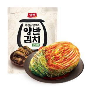 [동원] 양반김치 포기김치 7kg+자연을 담그다 갓김치 500g