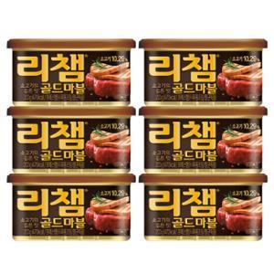 [동원] 리챔 골드마블 200g X 6캔