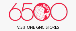 6500 VISIT ONE GNC STORES