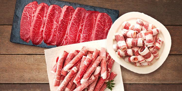 간편하게 구워먹는 고기 한 끼!